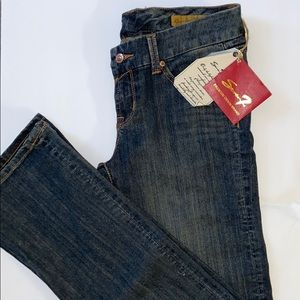 """NWT 7 JEANS 👖 in a """"Midnight"""" wash"""